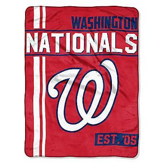 Northwest MLB Washington Nationals Micro Plush Blanket 150x115