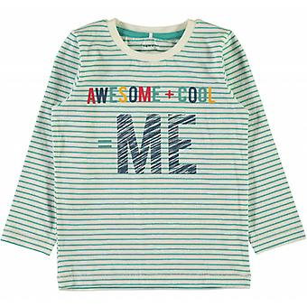 Name it Groene T-Shirt Nitgeritto Name-It