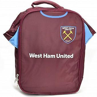 West Ham FC officielle klassiske fodbold Kit frokost taske