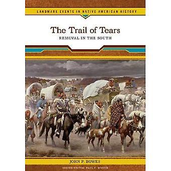 Trail of Tears: fjernelse i syd