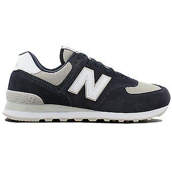 New Balance Classics ML574ESQ Herren Schuhe Blau Sneaker Sportschuhe