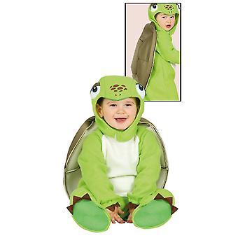 Pikkulapsille vauva kilpikonna naamiaispuku puku