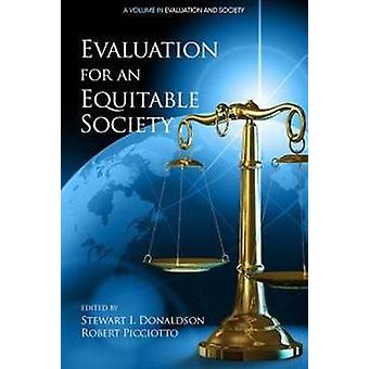 Evaluation for an Equitable Society by Donaldson & Stewart I.
