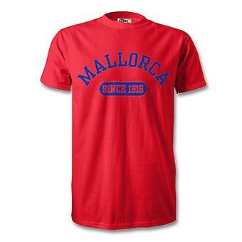 Mallorca 1916 etablerade Football T-Shirt