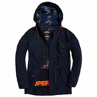 Superdry Aviator Rookie Parka Coat Nightshade Navy BPY