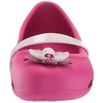 Crocs Kids' Girls Lina Charm Ballet Flat