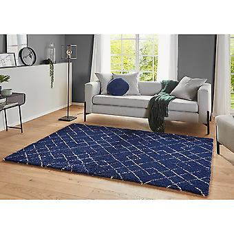 Design High Flor Rug Archer Blue