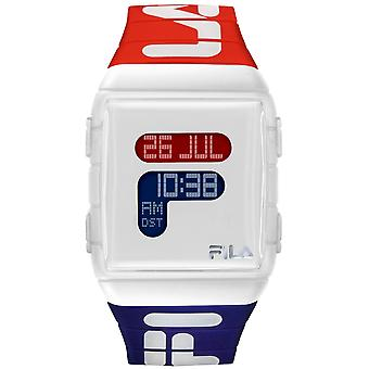 No. 105 38.105.005 Quartz Digital Child Watch with Silicone Bracelet 38-105-005