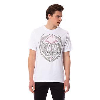 White Trussardi Men's T-shirt