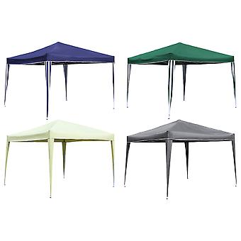 Charles Bentley Foldable Pop Up Gazebo Marquee Tent for Camping / BBQ - Shower Resistant Canopy in 4 Colours - 3X3M