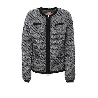 Twin-set 192tp258204131 Women's Grey Nylon Down Jacket
