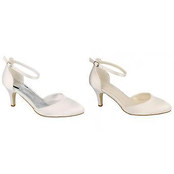 Anne Michelle Womens/Ladies Bridal Wedding Court Shoes