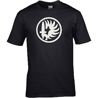2. Ausländische Legion Fallschirm Regiment B & W - Spezialkräfte - DTG gedruckt T-Shirt