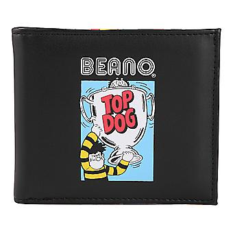 The Beano Dennis The Menace Gnasher Official Gift Leather Money Wallet