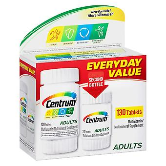 Centrum adults under 50 multivitamins, bonus size, tablets, 130 ea