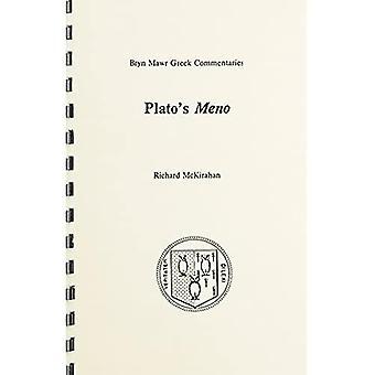 Meno (Greek Commentaries Series)