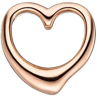 الاطفال قلادة القلب 925 الاسترليني الفضة الذهب مطلي قلادة القلب