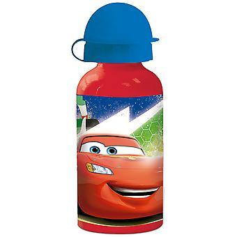 CARS kids water bottle in aluminum red 400 ml
