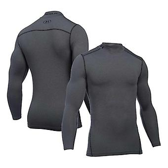 Heren's Long Sleeved Compression T-shirt Under Armour 1265648-090 Grey/XXL