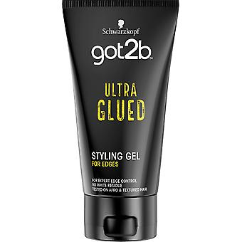 Schwarzkopf Got2b Cheveux Ultra Glued Gel Spiking Glue Ultra For Edges 150ml
