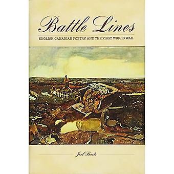 Battle Lines: Canadese poëzie in het Engels en de eerste Wereldoorlog