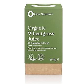 One Nutrition Wheatgrass Capsules 500mg Capsules 90 (ONE024)