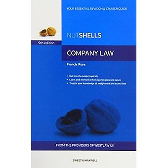 Nutshells Company Law (9th Revised edition) by Francis Rose - 9780414