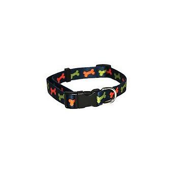Rosewood Bone Dog Collar