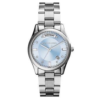 Michael Kors MK6068 Colette Blue Dial Stainless Steel Ladies Watch