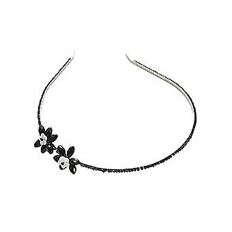 Intrigue Womens/Ladies Flower Beaded Headband