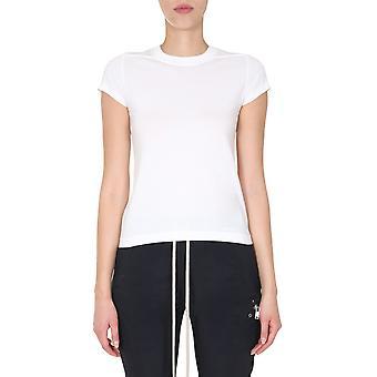 Rick Owens Rp20f2235ja110 Women's White Cotton T-shirt