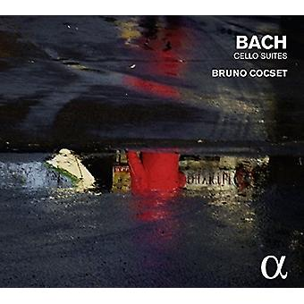 Bruno Cocset - J.S Bach: Cello Suites [CD] USA import
