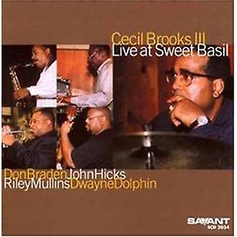 Cecil Brooks III - Live at Sweet Basil [CD] Usa import