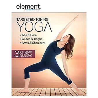 Élément: Importer des USA ciblée de tonification Yoga [DVD]
