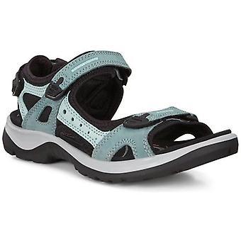 Ecco offroad sandals womens green