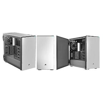 Corsair Carbide Series 678C Low Noise Tempered Glass ATX Case White