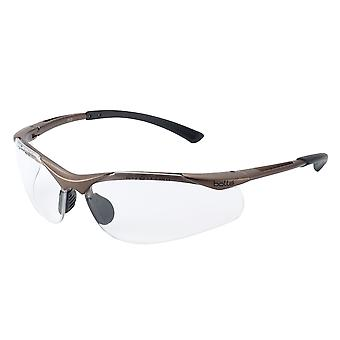 Bolle Safety CONTOUR Safety Glasses - Clear BOLCONTPSI