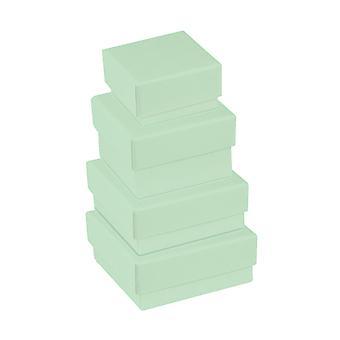Pastell grönt kort Smycken Presentation Lådor