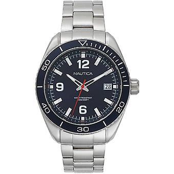 Nautica Watch NAPKBN002 - Plated Stainless Steel Gents Quartz Analogue