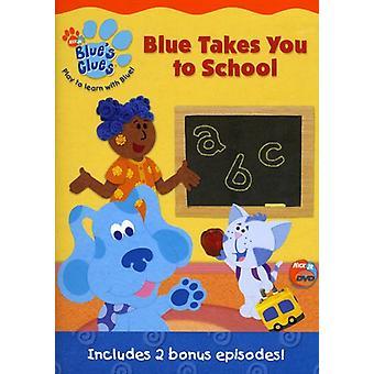 Indices de Blue - bleu prend vous importation USA école [DVD]