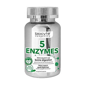 5 enzymes 60 capsules