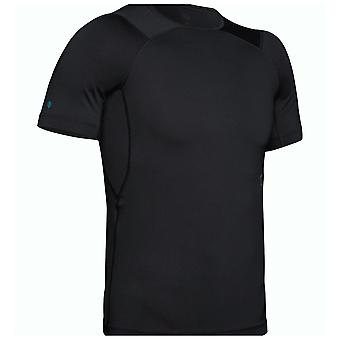 Under Armour Rush Mens Short Sleeve Compression Baselayer Shirt Noir