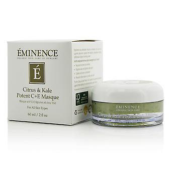 Citrus & kale potent c+e masque for all skin types 202656 60ml/2oz
