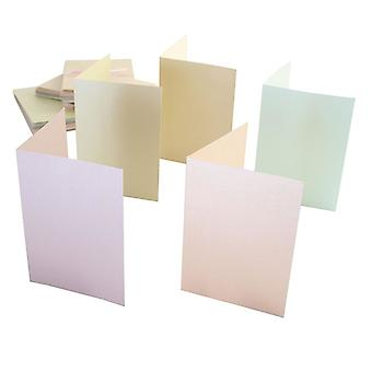 Anita's A6 Cards & Envelopes Pastel Pearlescent (50pk) (ANT 1511010)