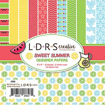 LDRS Creative Sweet Summer 6x6 Inch Paper Pack