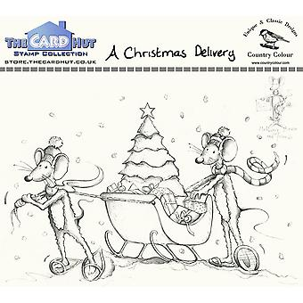The Card Hut A Christmas Delivery Clear Stamps