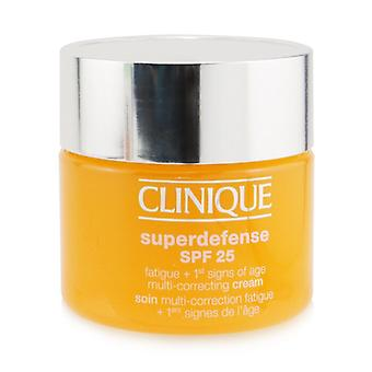 Clinique Superdefense SPF 25 Fatigue + 1st Signs Of Age Multi-Correcting Cream - Combination Oily to Oily 50ml/1.7oz