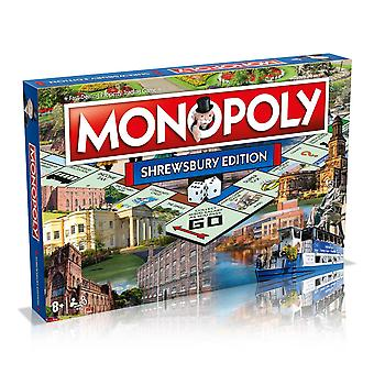Shrewsbury Monopoly Board Game