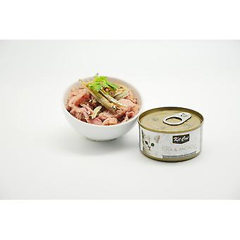 Kit Cat Atun And Anchovies (Cats , Cat Food , Wet Food)
