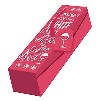 Eurowrap Christmas Wine Bottle Box